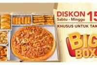 3 Promo Pizza Hut Indonesia Terbaru Pizza Paket Favorit, Big Box dan Double Box